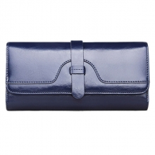 Calfskin Clutch Bag Genuine Leather Wallet for Women