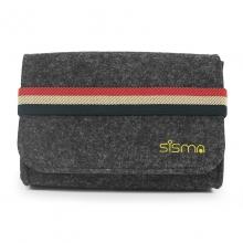 sisma ® Rejse Taske til Små Elektronik (Oplader, Kabel, Øretelefon, Ekstern HDD, USB-sticks, Hukommelseskort osv.) Multifunktions Kosmetikpose (Størrelse: S)